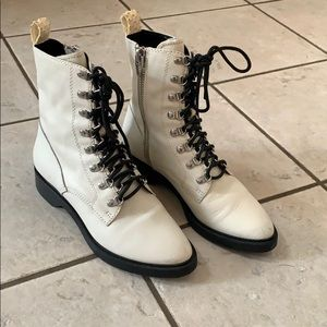 White dolce vita boots size 37